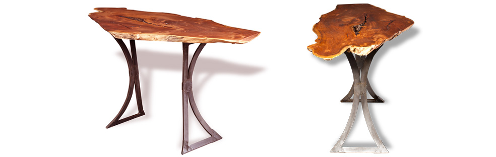 Photo Galleries Of Exotic Wood Furnitures Latest Creations - Metal conference table legs